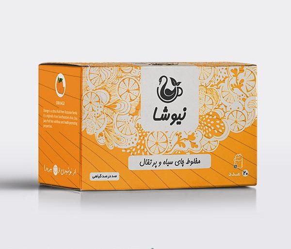 چای معطر پرتقالی نیوشا