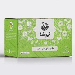 چای لیمو کیسه ای نیوشا
