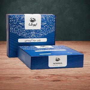 چای کیسه ای خالص سی تی سی ۱۶۰ عددی ( لفافدار)